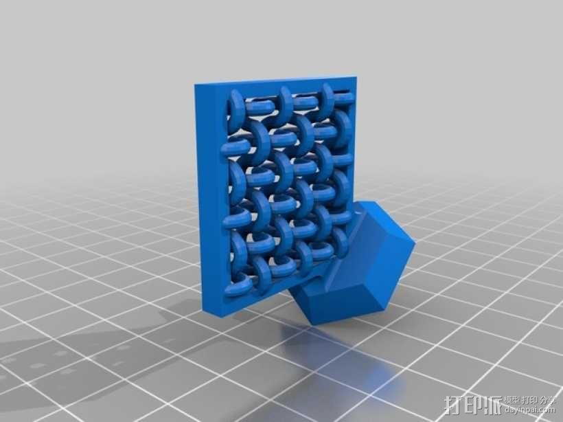 压力测试样品 3D模型  图3