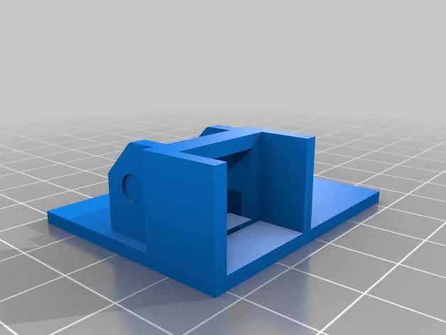 3uP 3D打印机电缆保护链 3D模型  图6