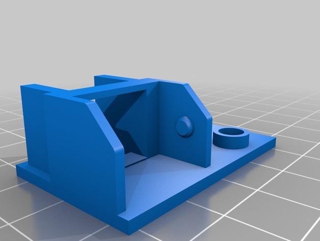 3uP 3D打印机电缆保护链 3D模型  图4