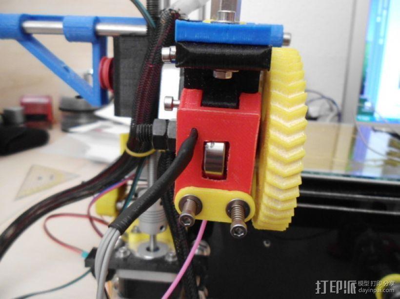 线材监控器 3D模型  图1