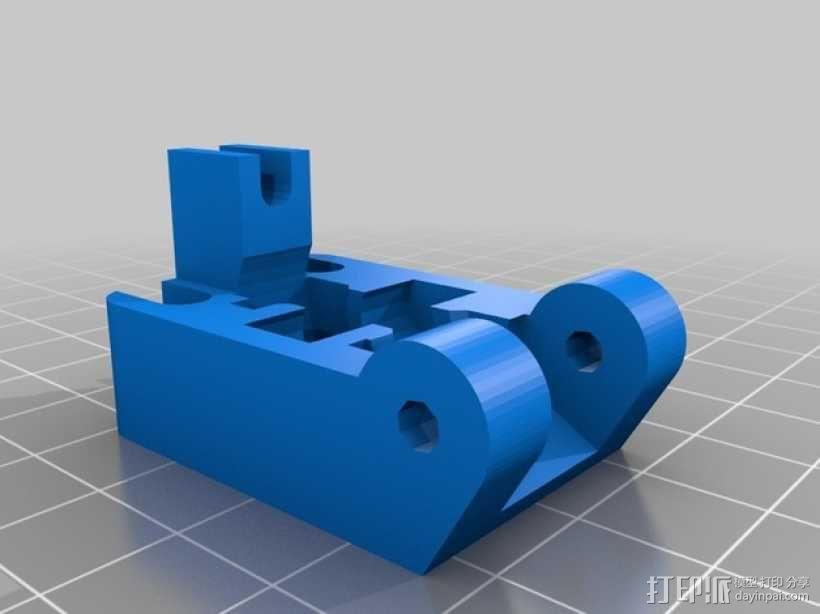线材监控器 3D模型  图3