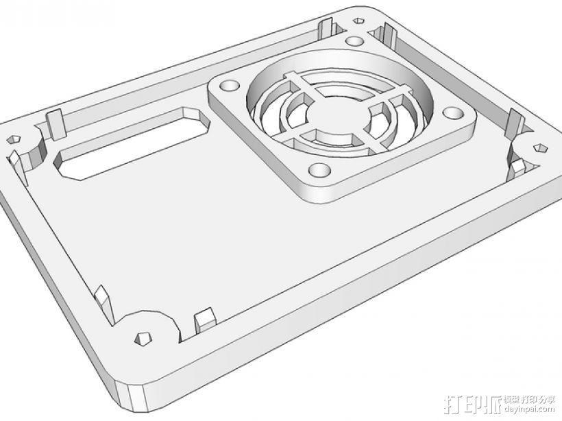 Ramps 1.4 打印机机箱 3D模型  图8