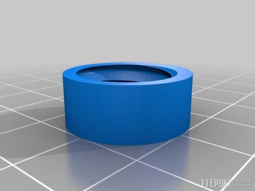 U2RS电线电缆夹 3D模型  图4