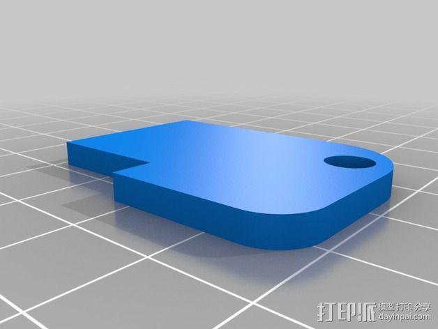 照相机底座 3D模型  图2