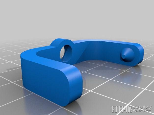 照相机底座 3D模型  图3