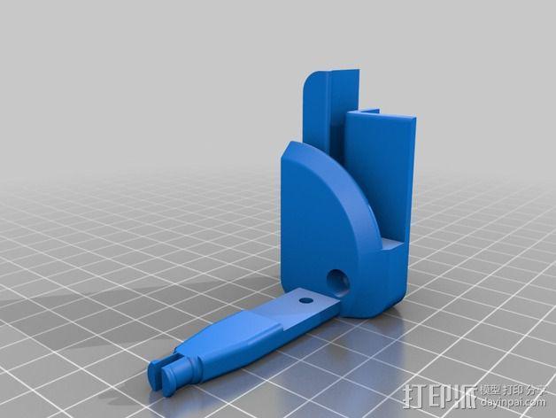 照相机底座 3D模型  图4