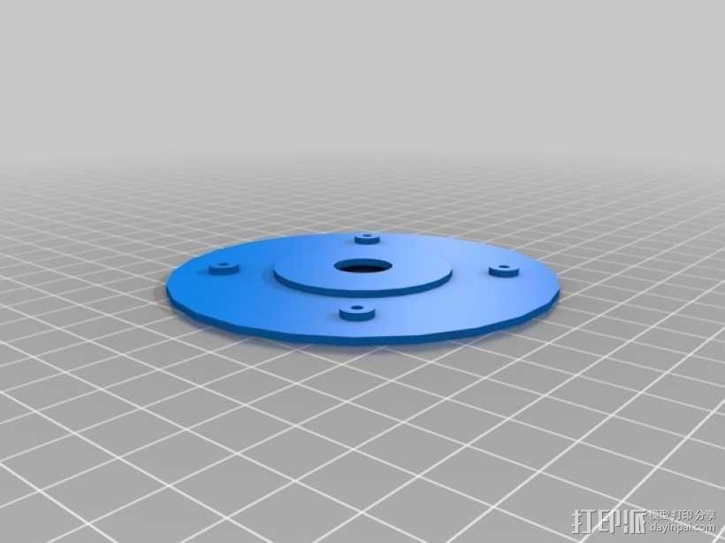 Rigidbot线轴架 3D模型  图2