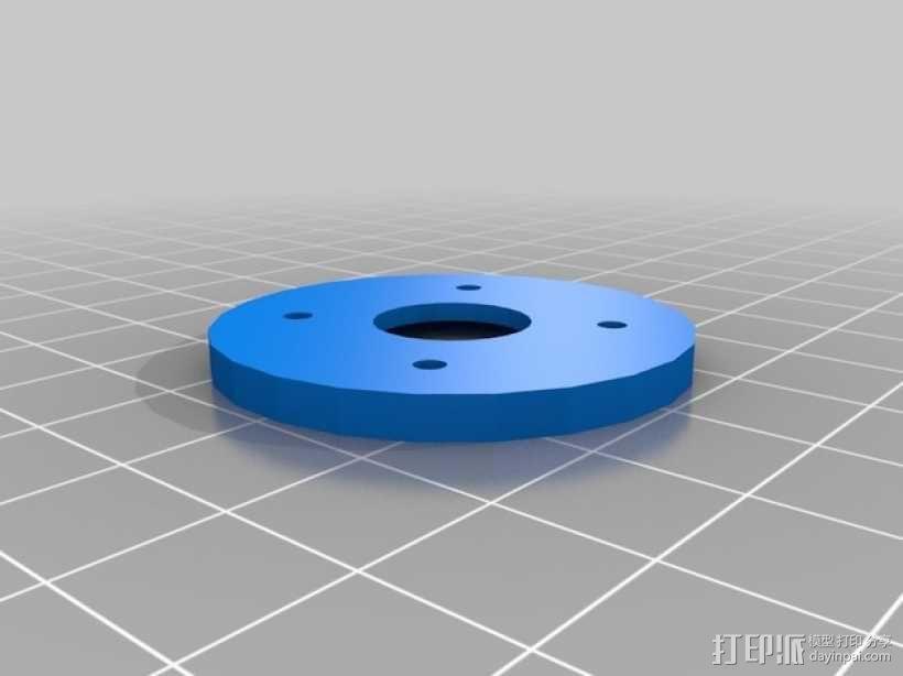 Rigidbot线轴架 3D模型  图4