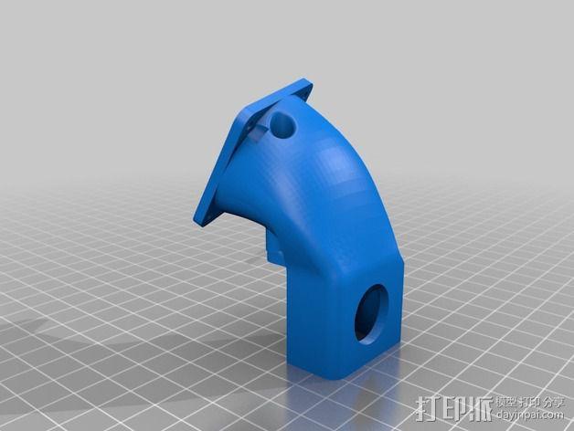 皮带驱动挤出机 3D模型  图8