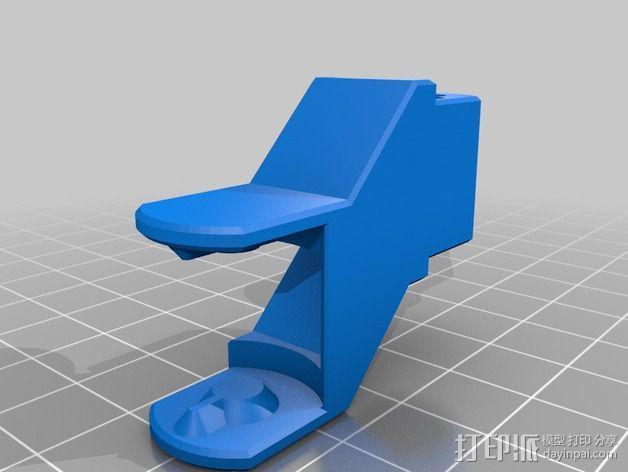 皮带驱动挤出机 3D模型  图9