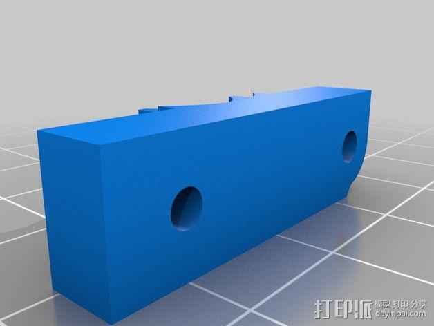 皮带驱动挤出机 3D模型  图12