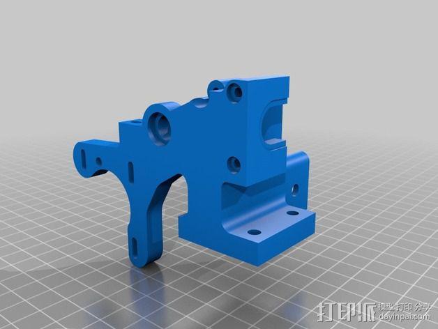 皮带驱动挤出机 3D模型  图11