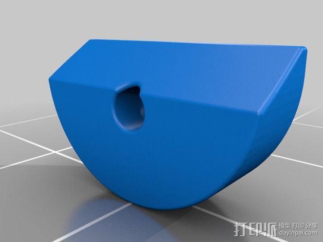 皮带驱动挤出机 3D模型  图13