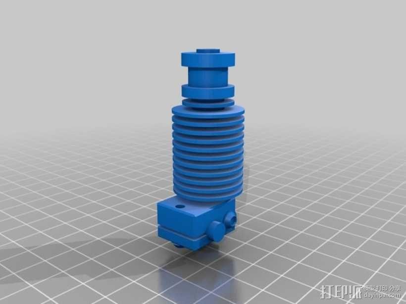 E3D v6 1.75毫米通用热端 3D模型  图1