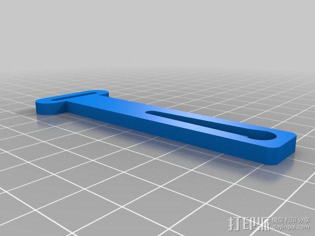 Prusa i2 3D打印机打印床自动校准装置 3D模型  图2