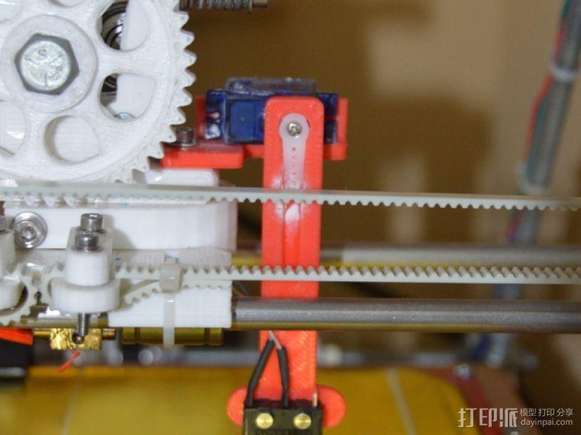Prusa i2 3D打印机打印床自动校准装置 3D模型  图3