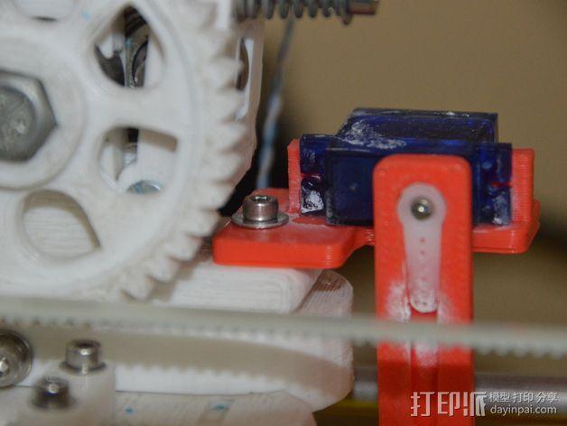 Prusa i2 3D打印机打印床自动校准装置 3D模型  图4