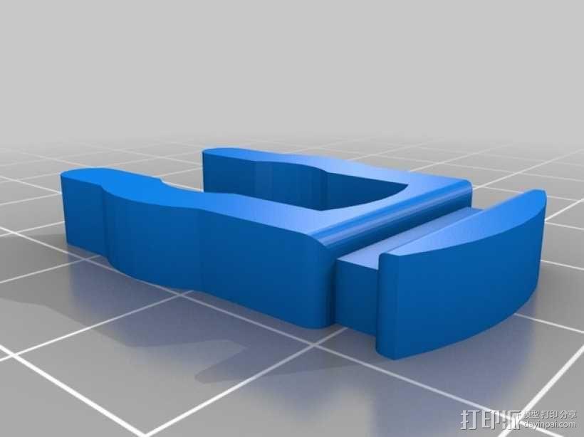 E3D v6双热端固定架 3D模型  图6