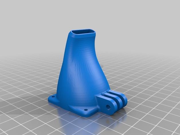 Prusa i3 and i3v打印机散热风扇. 3D模型  图2