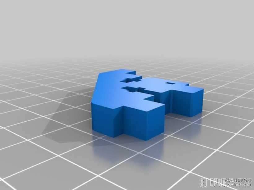 Printrbot 3D打印机零部件 3D模型  图2