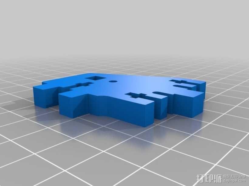 Printrbot 3D打印机零部件 3D模型  图16