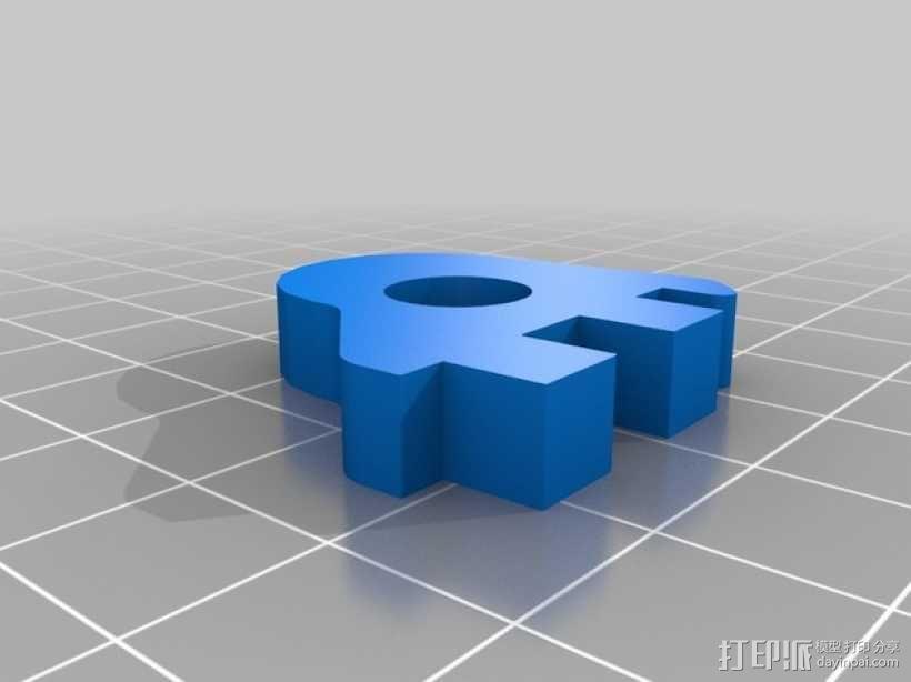 Printrbot 3D打印机零部件 3D模型  图32