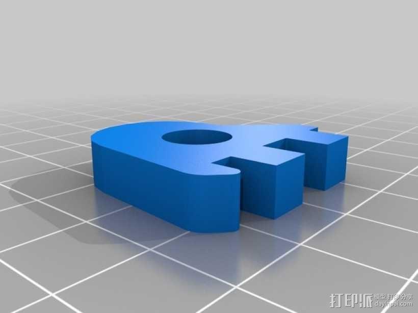Printrbot 3D打印机零部件 3D模型  图31