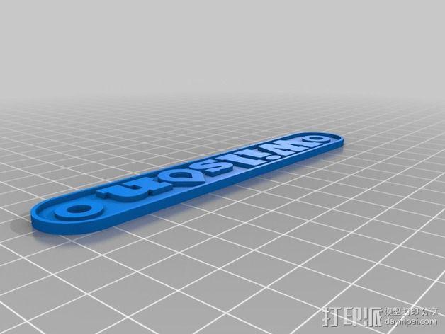 3D打印机Y轴固定架 3D模型  图3