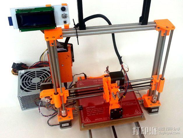 3D打印机Y轴固定架 3D模型  图2