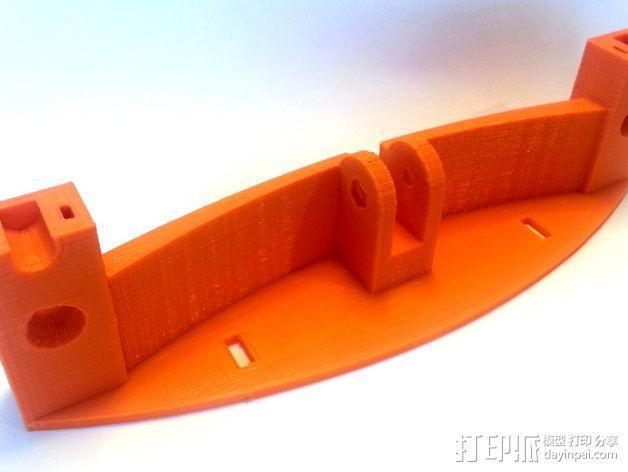 3D打印机Y轴固定架 3D模型  图5