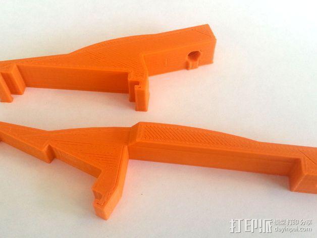 3D打印机Y轴固定架 3D模型  图7