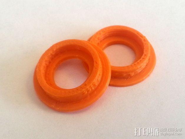 3D打印机Y轴固定架 3D模型  图6