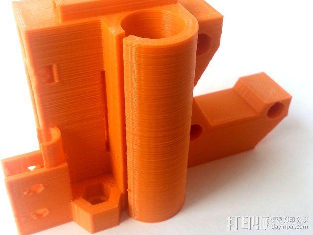 3D打印机Y轴固定架 3D模型  图4