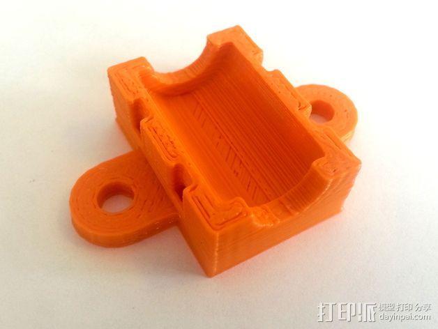 3D打印机Y轴固定架 3D模型  图9