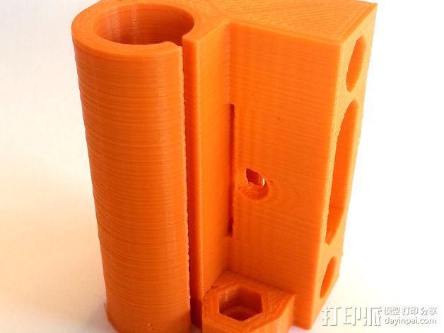 3D打印机Y轴固定架 3D模型  图8