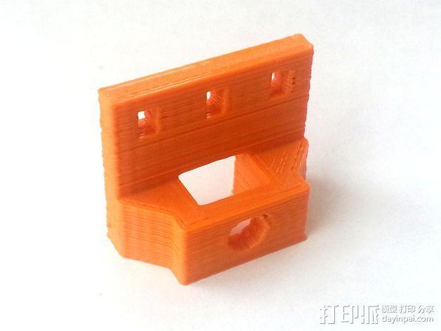 3D打印机Y轴固定架 3D模型  图11