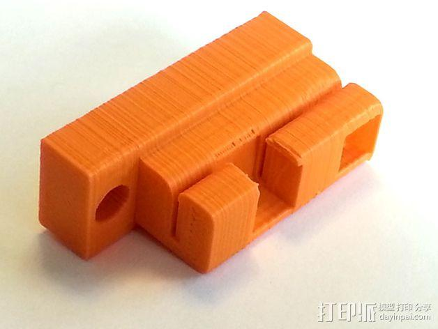 3D打印机Y轴固定架 3D模型  图10