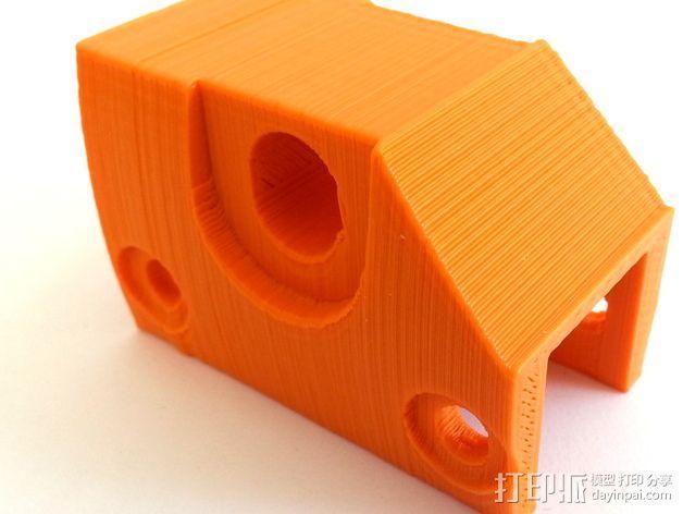 3D打印机Y轴固定架 3D模型  图13