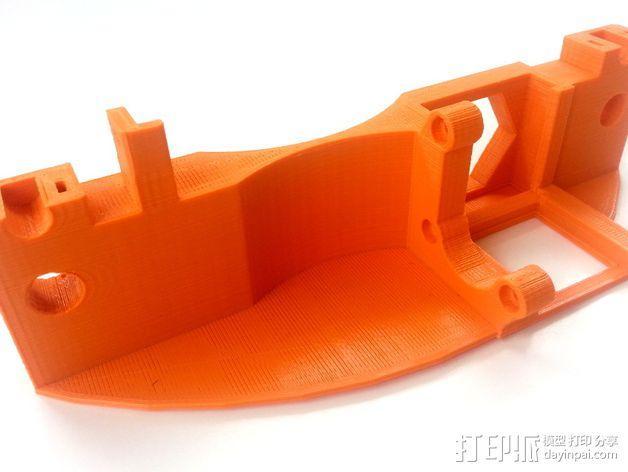 3D打印机Y轴固定架 3D模型  图14