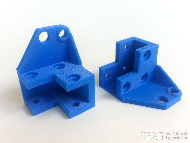 3D打印机Y轴固定架 3D模型  图16