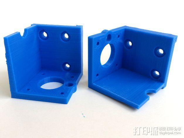 3D打印机Y轴固定架 3D模型  图15