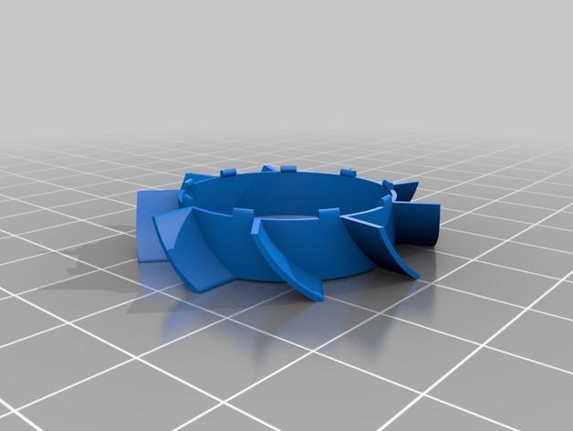 风扇叶片 3D模型  图2