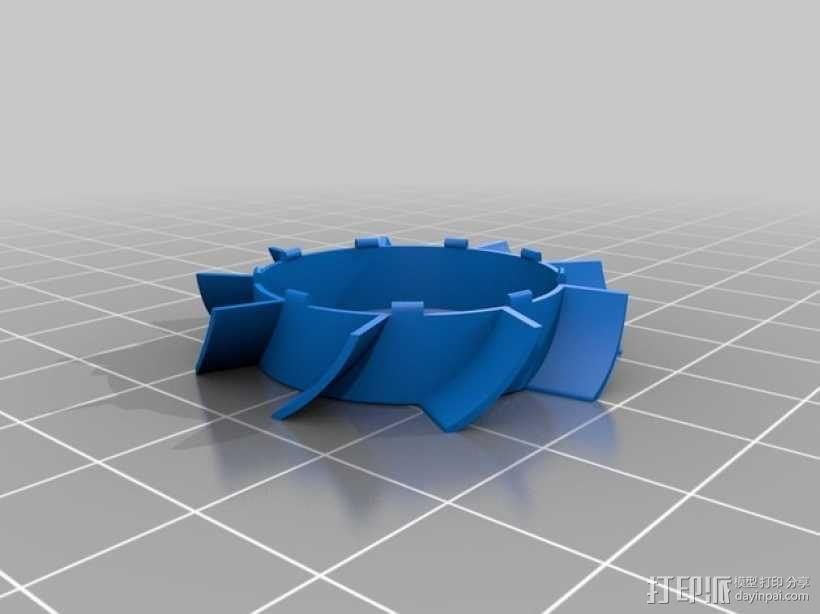 风扇叶片 3D模型  图3