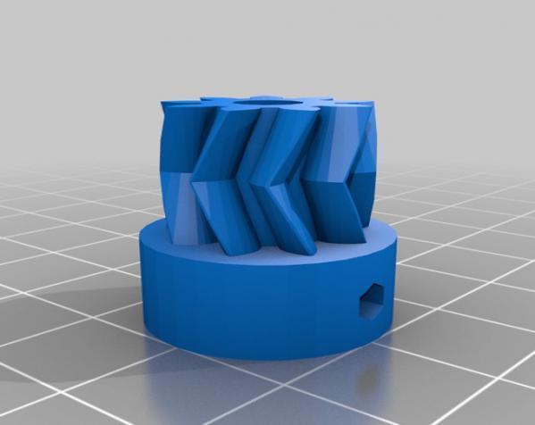 Wade韦德挤出机 3D模型  图4