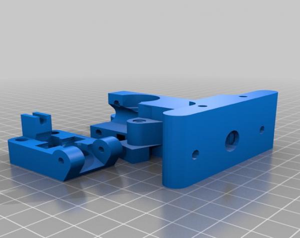 Wade韦德挤出机 3D模型  图2