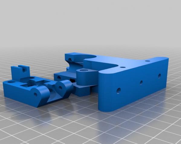Wade韦德挤出机 3D模型  图14