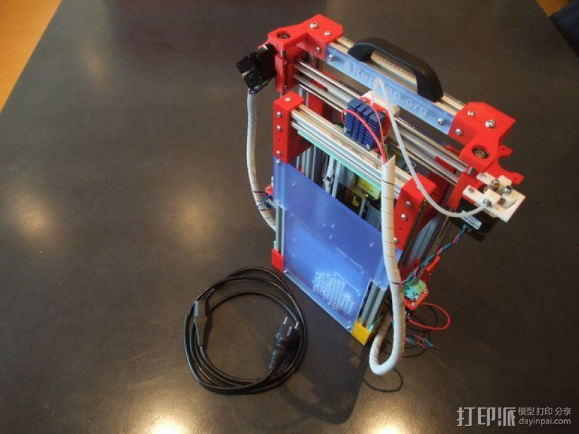 可折叠Reprap 3D打印机 3D模型  图7