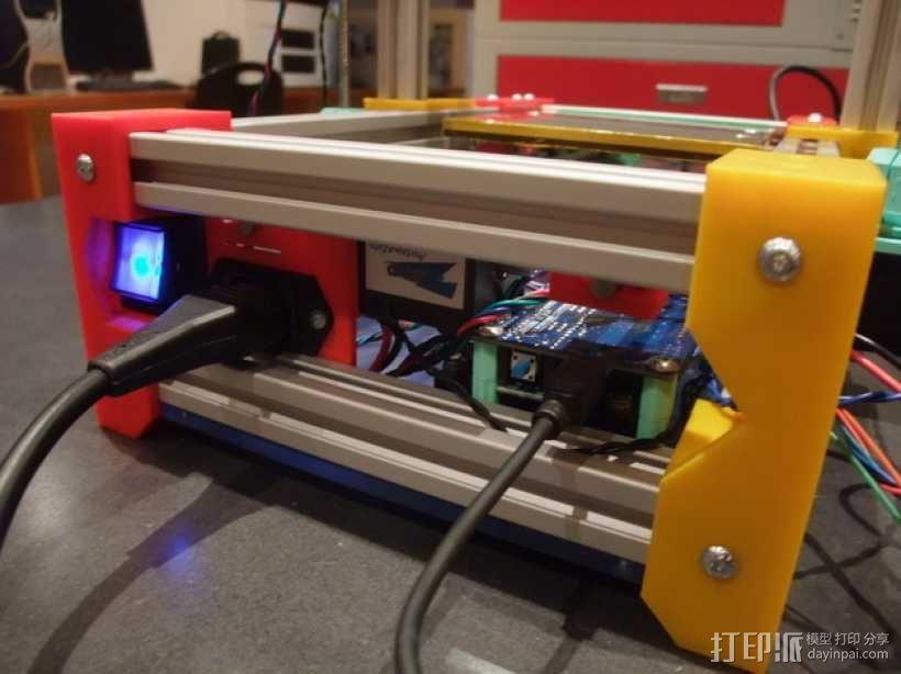 可折叠Reprap 3D打印机 3D模型  图8