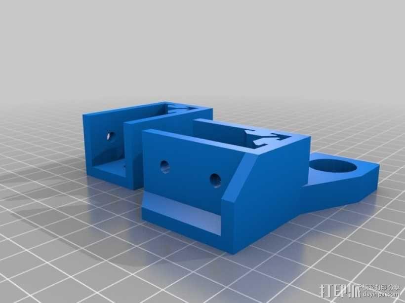 可折叠Reprap 3D打印机 3D模型  图10