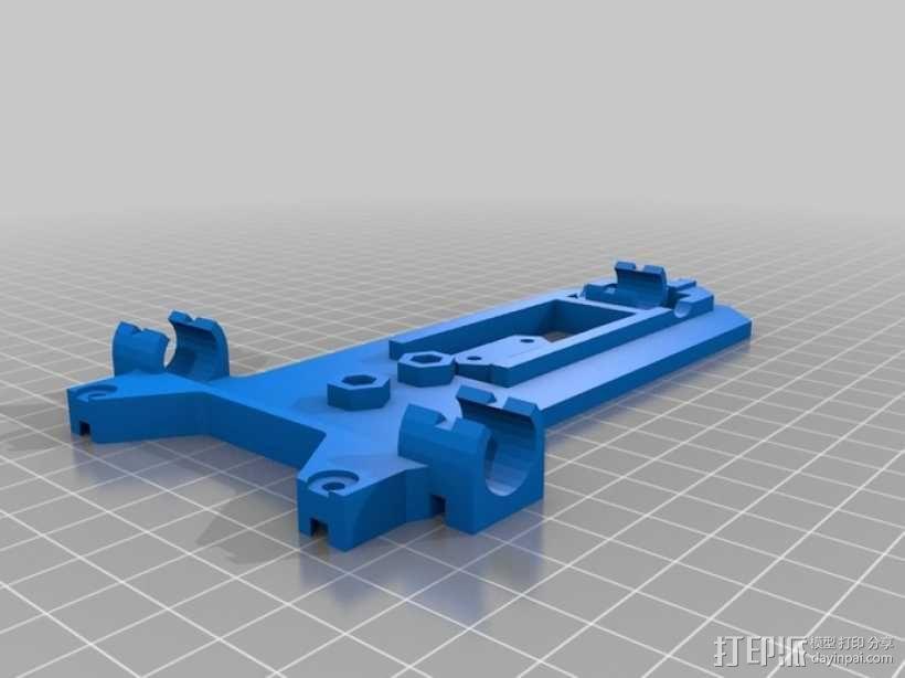 可折叠Reprap 3D打印机 3D模型  图16